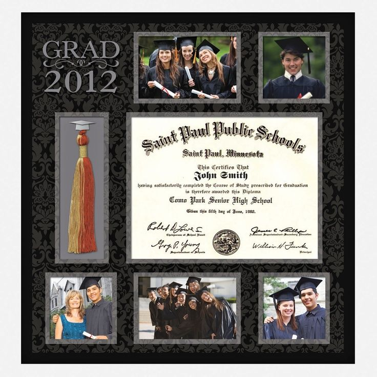 graduation invitation framed for keepsake ideas | Graduation Frame ...