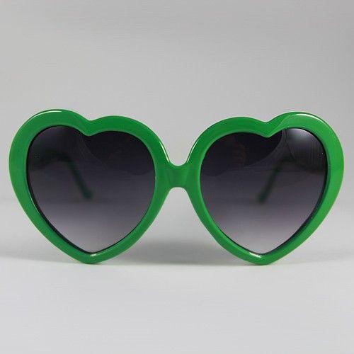 c8a4bfa88de9d green heart sunglasses