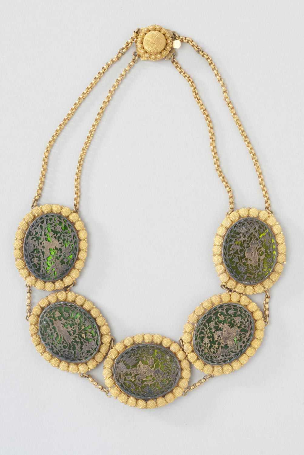 Thewa‑Work Necklace Work necklaces, Jewelry, South asian art