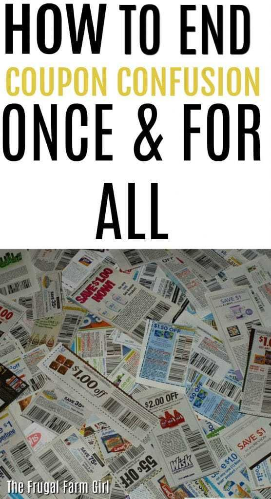 How to End Coupon Confusion Once & For All