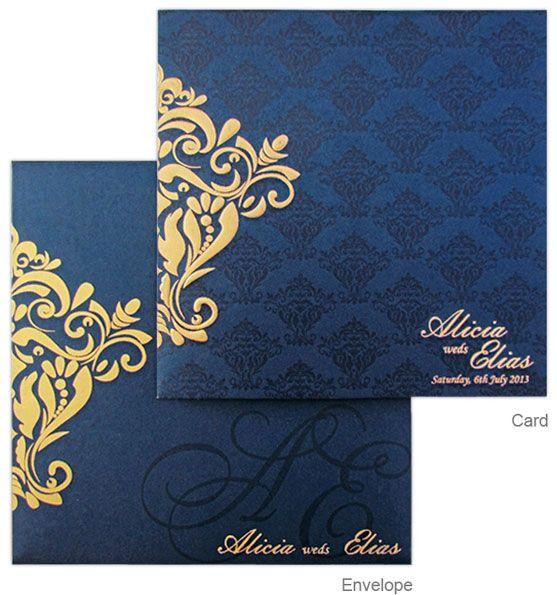 regal hindu wedding marriage invitation cards  hindu