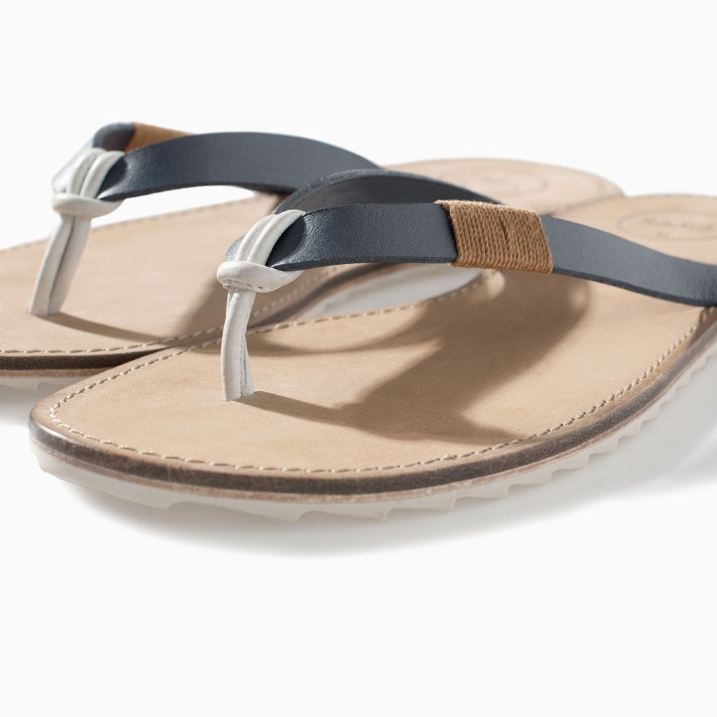 Sandales Basic Homme Homme Cuir Zara Basic Zara Homme Sandales Sandales Cuir Zara Cuir wONnkPX80