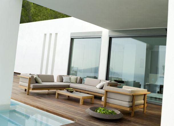 Pure Sofa von Tribù Outdoor lounge