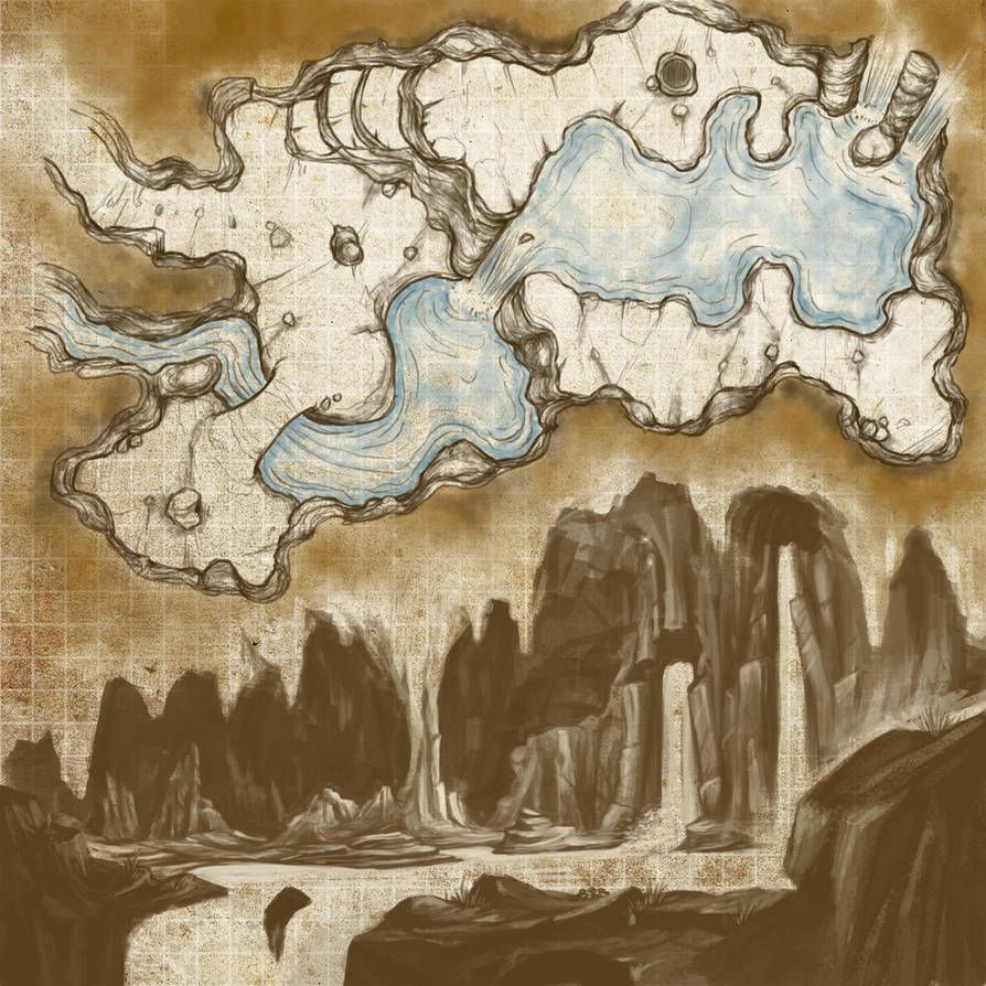 BG-Grotte by gogots | Location Concepts in 2019 | Fantasy map