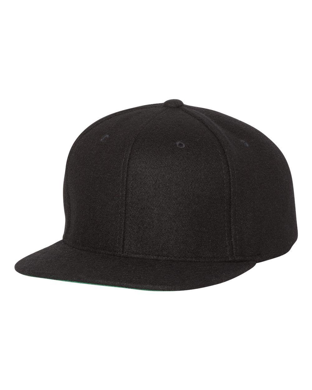 0233bb6ac2249 Yupoong 6689 - Melton Wool Snapback Cap  yupoong  snapback