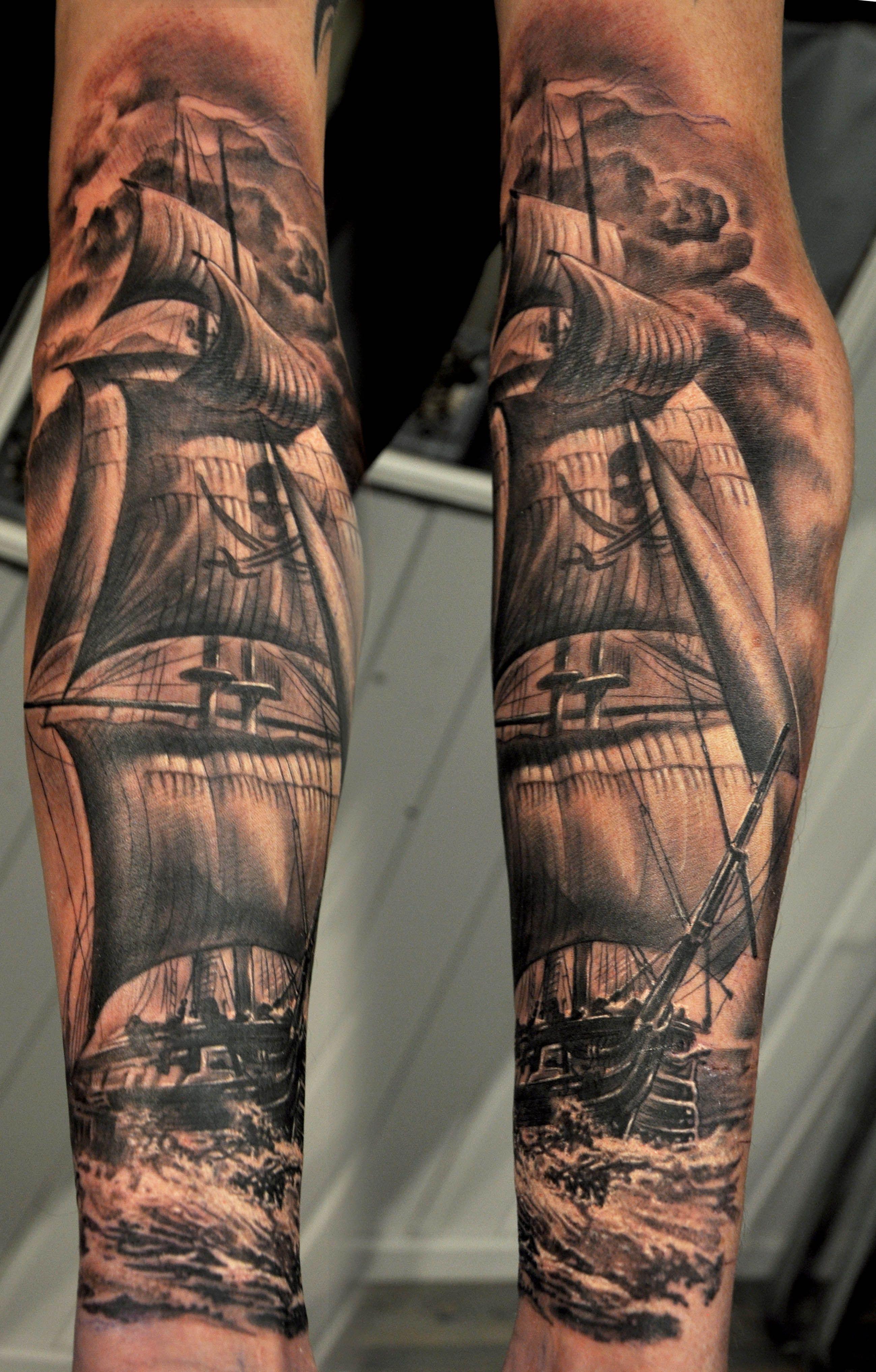 Tattoo Frequency нога морское тату татуировки и тату