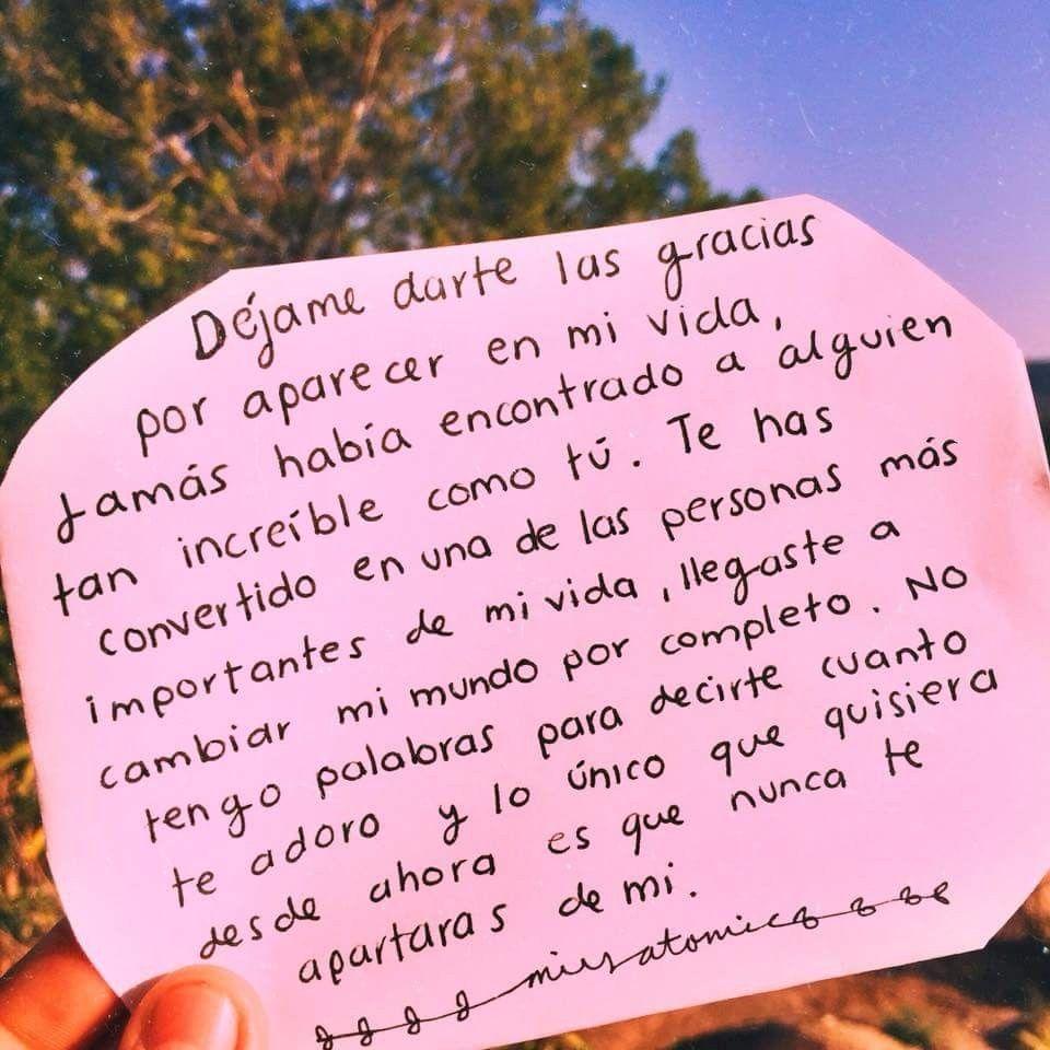 No Te Apartes Nunca De Mi Amor Frases De Amor Frases