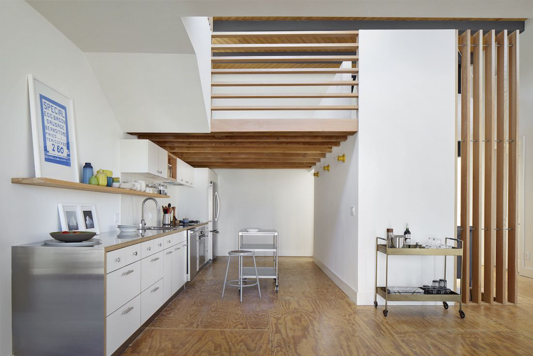 1 bedroom loft apartment  Kitchen of the Week A Budget Kitchen Rehab in a Santa Monica Rental