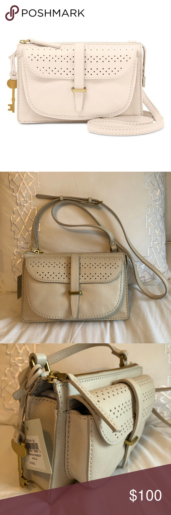 0be2626d0 {HOST PICK} Fossil Ryder Small Crossbody Bag Fossil Ryder Small Crossbody  Bag Color: