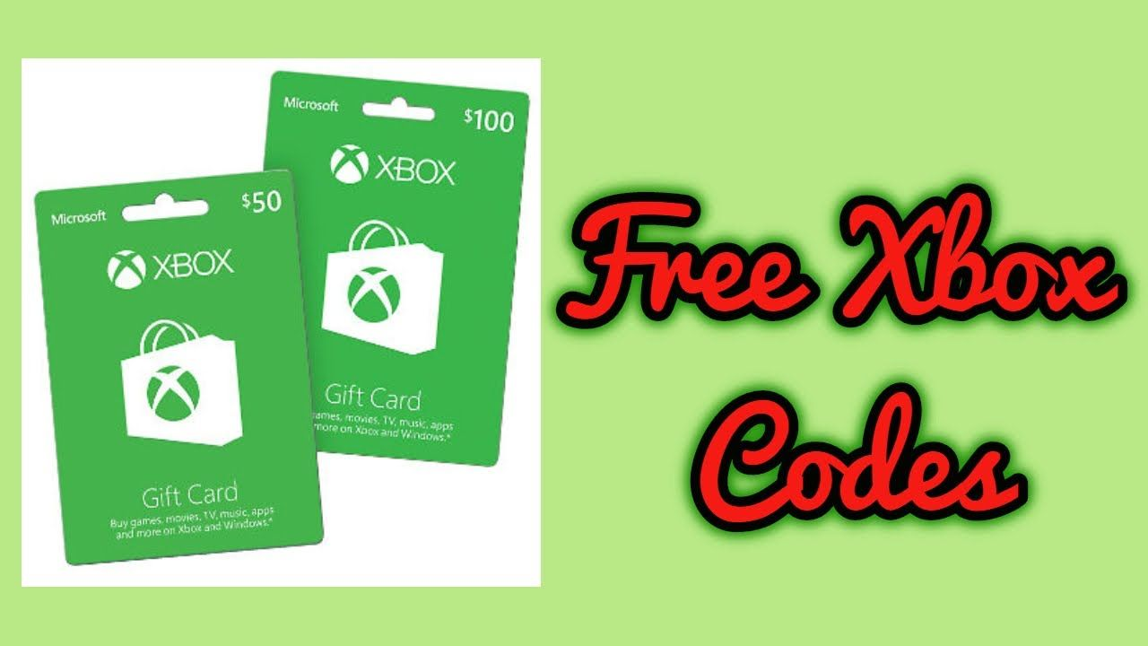 Free xbox gift cards in 2020 xbox gifts xbox gift card
