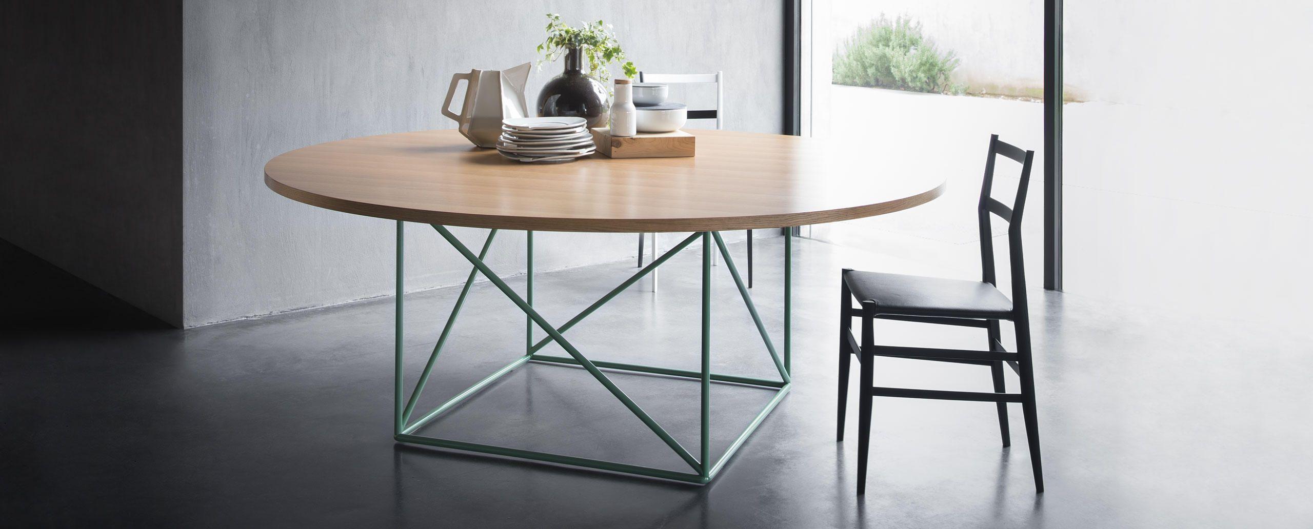 Tavoli Da Pranzo Cassina.Lc15 Le Corbusier Cassina Arredi Table Dining E Le Corbusier