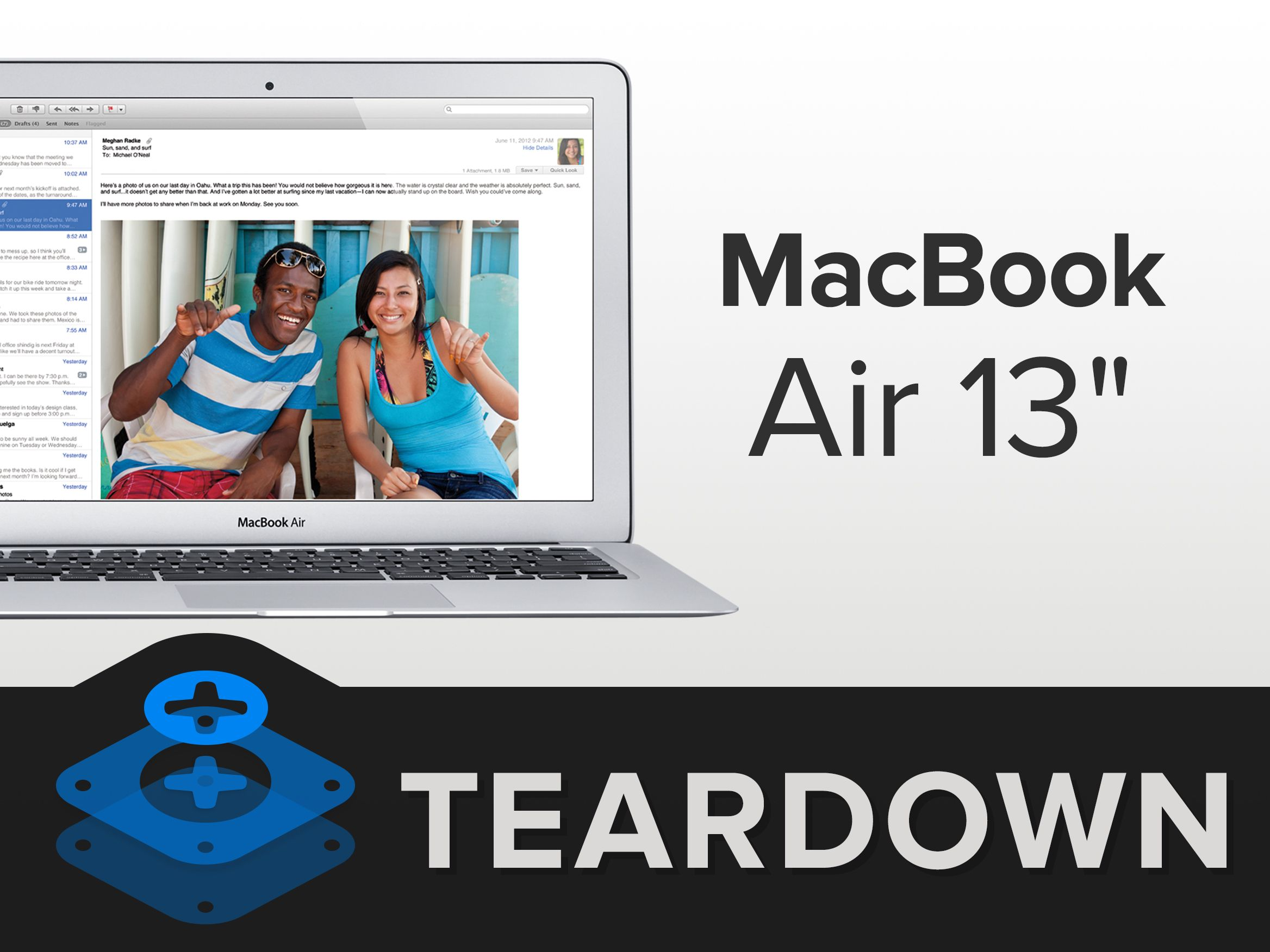 Macbook Air 13 Early 2015 Teardown Macbook Air 13 Macbook Macbook Air