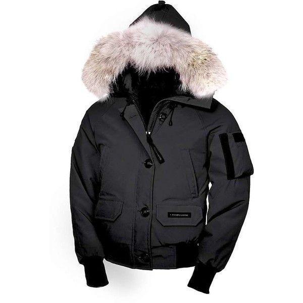 Canada Goose Women S Chilliwack Bomber Jacket 48 905 Rub Liked On Polyvore Featuring Outerwear Jackets Black Zip Canada Goose Women Fashion Canada Goose