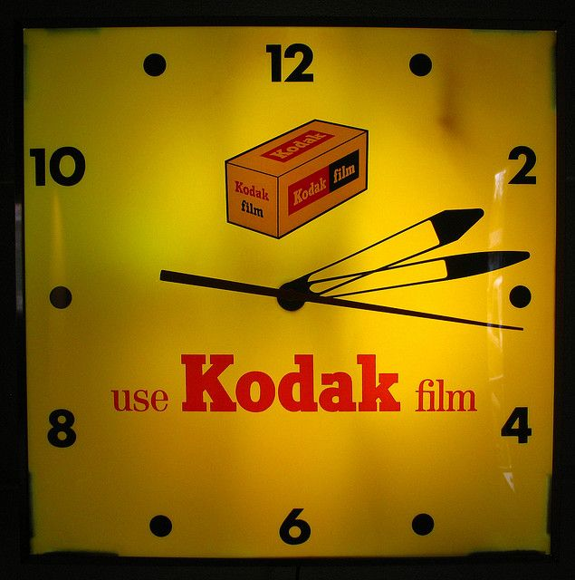 Use Kodak Film Vintage Clock | Say Cheese for Vintage in