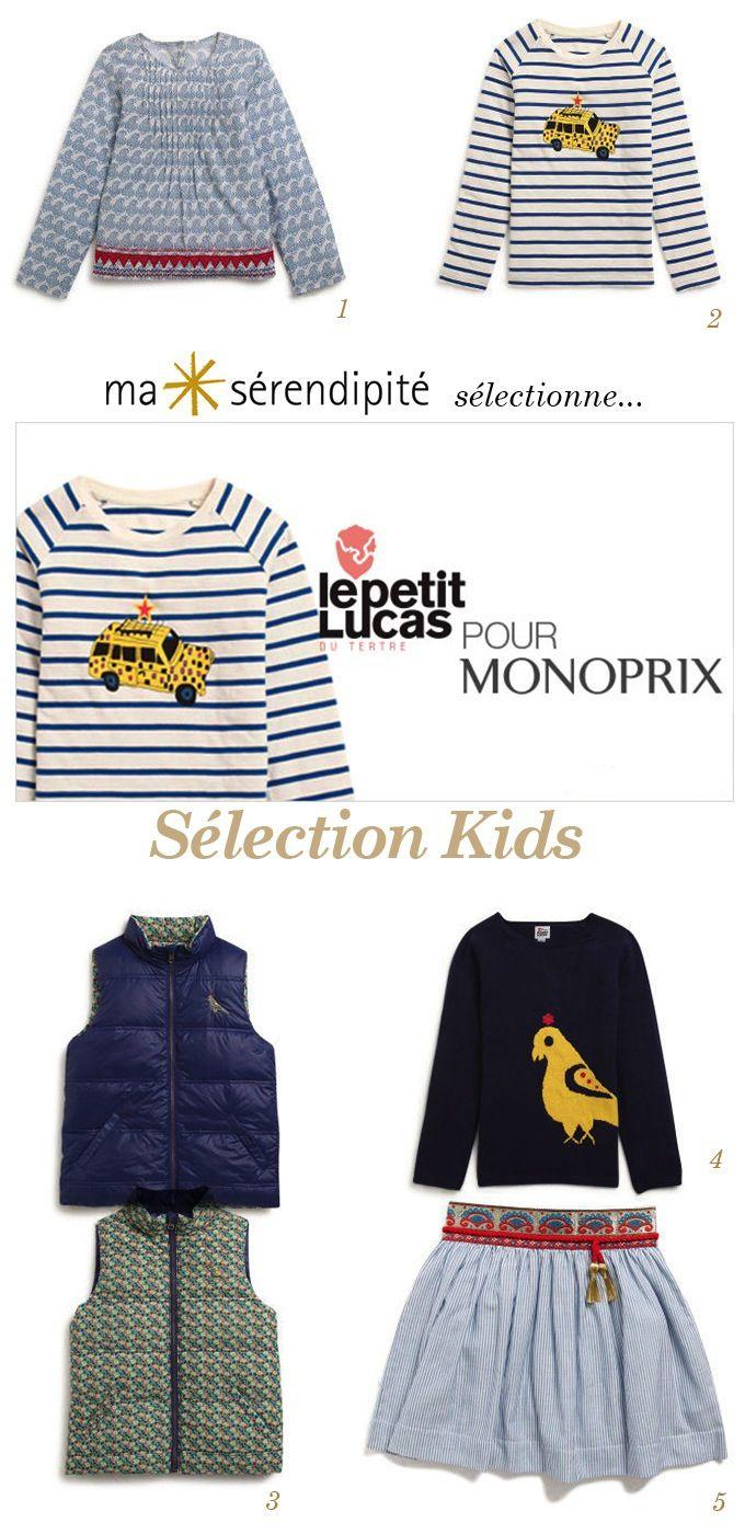 Exceptionnel Le Petit Lucas Du Tertre Monoprix #3: Monoprix X Le Petit Lucas Du Tertre | Ligne Kids U2022 Ma Sérendipité