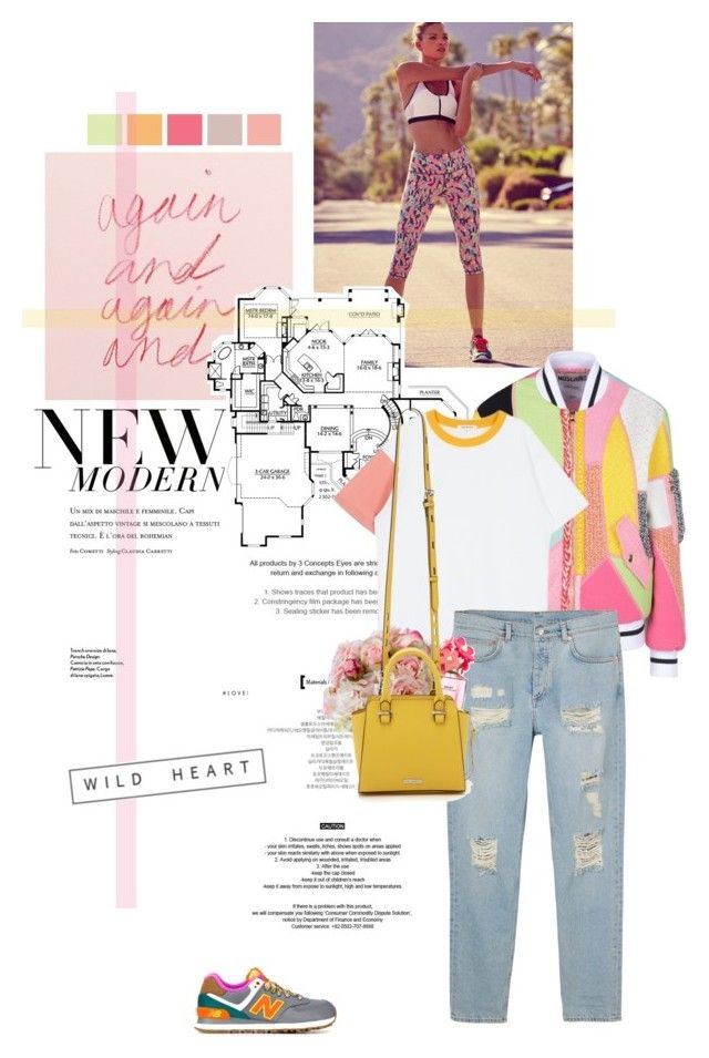 """""""Wild heart."""" by sarahstardom ❤ liked on Polyvore featuring New Balance, Moschino, Monki, Diane James, Marc Jacobs and Rebecca Minkoff"""