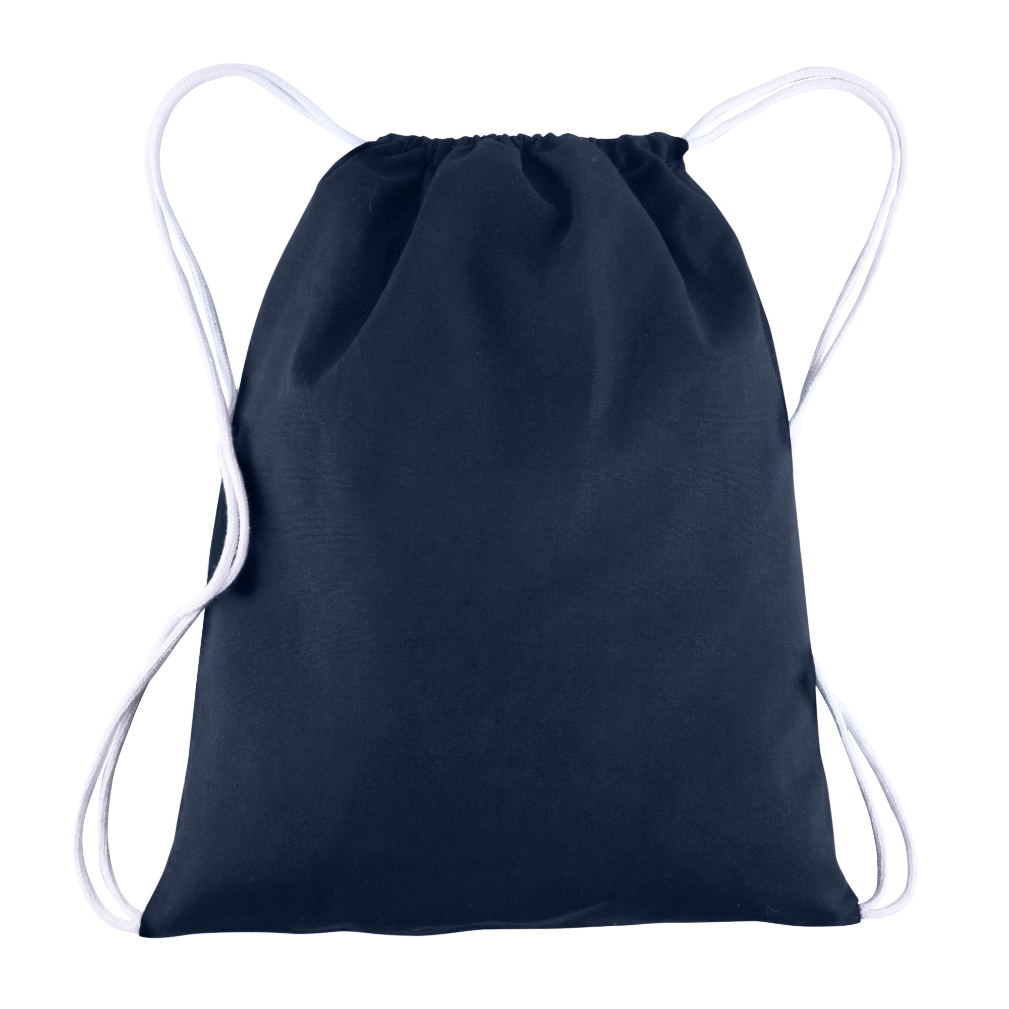 9d0c6fc01130 Cotton Canvas Drawstring Backpacks Bags - 12 Pack - Bulk Pack ...