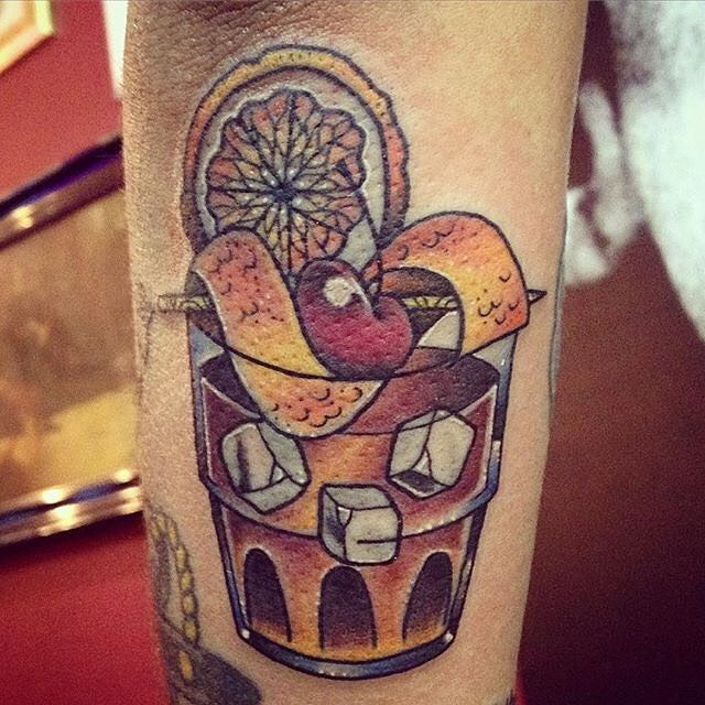 heres a good old fashioned traditional tattoo for