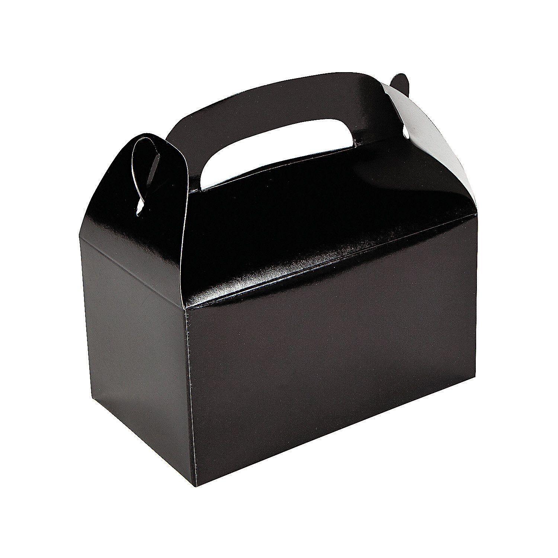 Black favor boxes in 2020 fun party supplies black