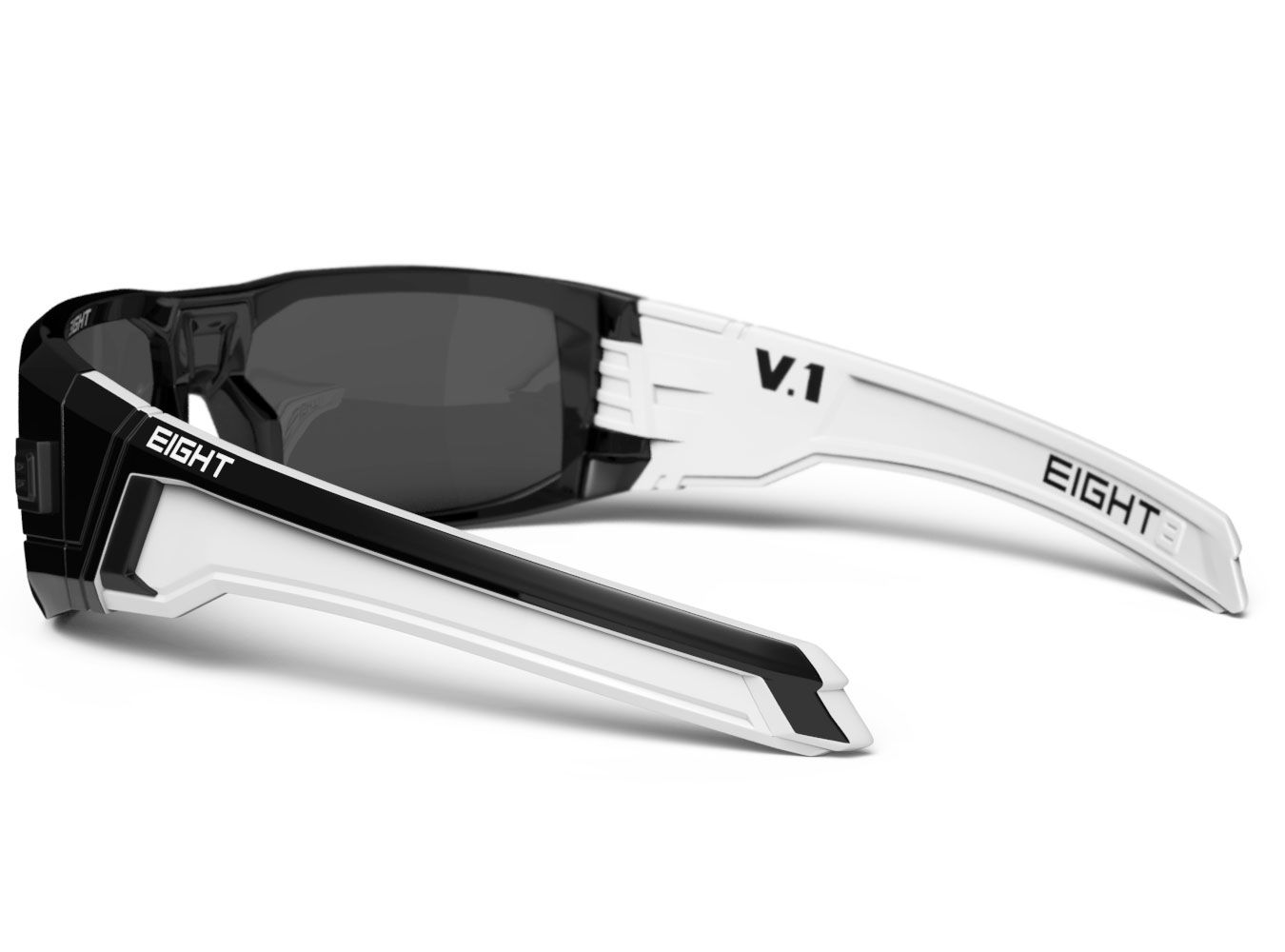f133644f77 Glossy Black White V.1 from EIGHT Eyewear WWW.IWEAR8.COM  8eyewear   sunglasses  shades  cool  mensfashion  fashion  style  summer  eight  sports   design