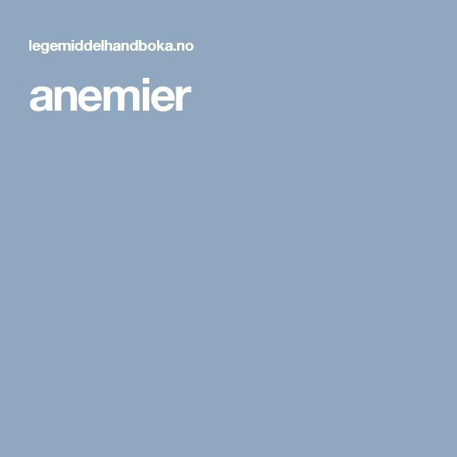 anemier