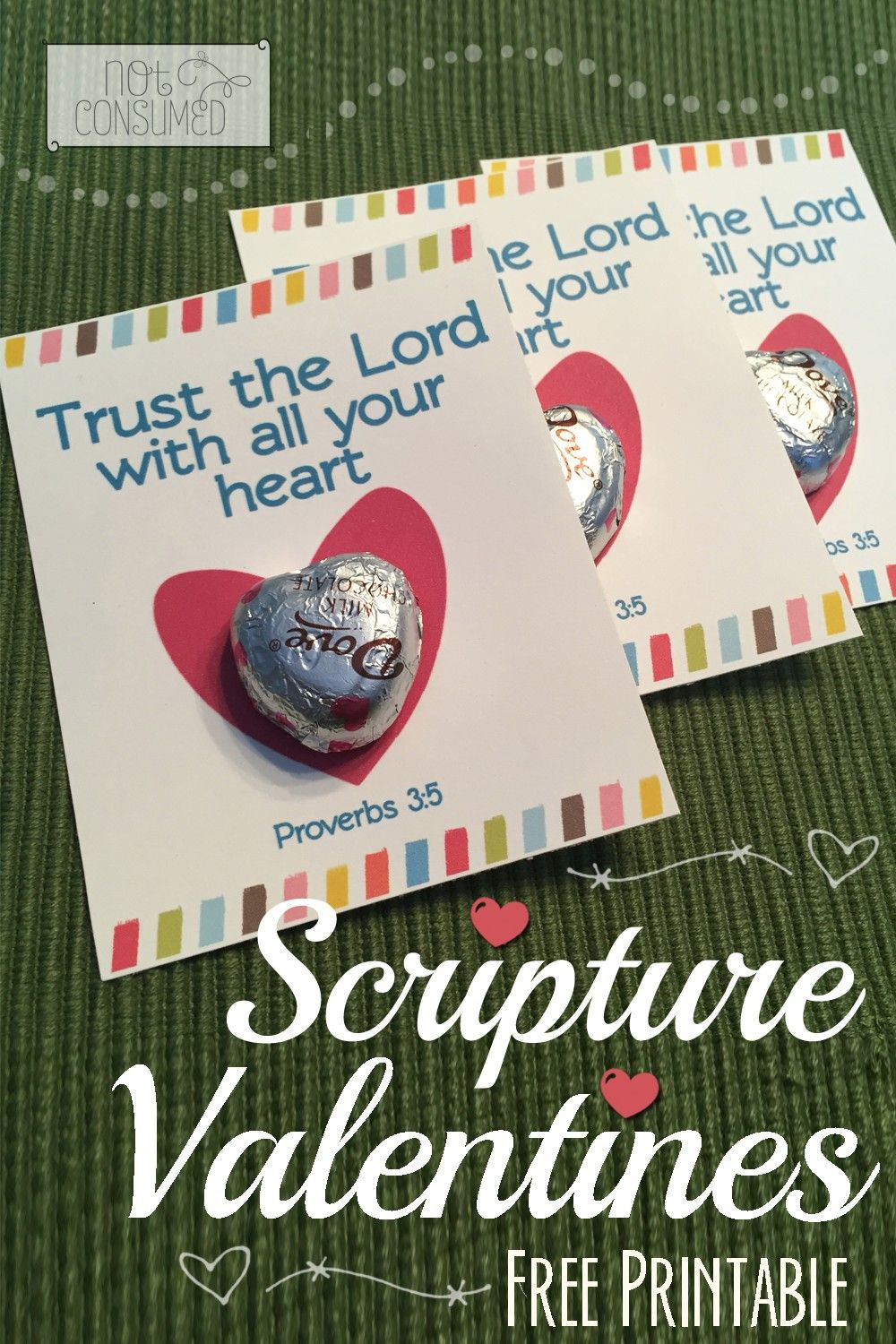 5 Free Valentine Scripture Printables – Christian Valentine Cards for Kids
