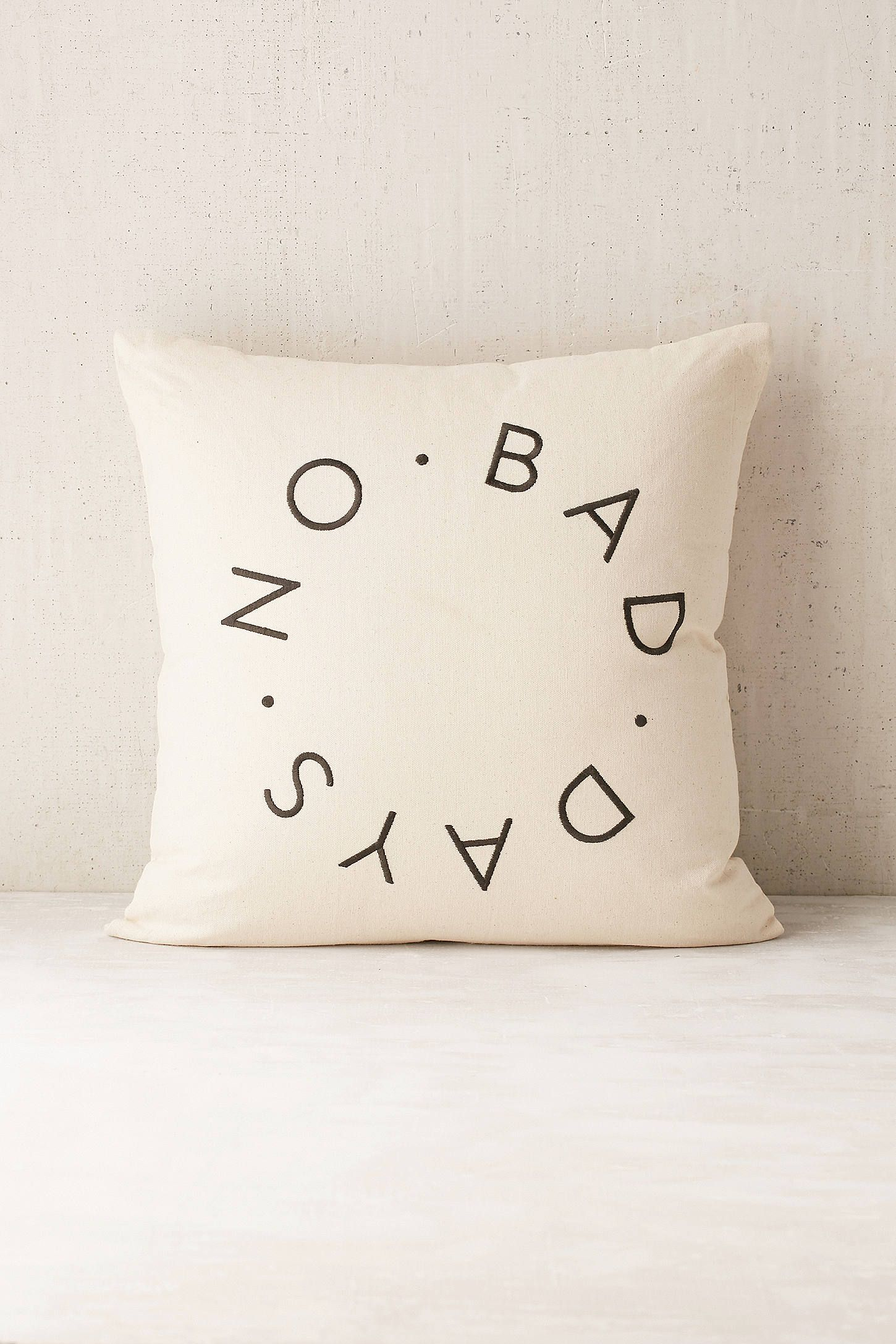 Shop No Bad Days Cushion at Urban Outfitters today We carry all the latest styles colours and brands for you to choose from right here