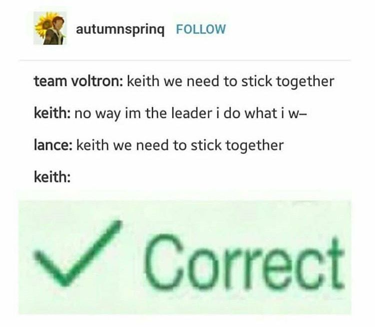 Lance being Keith\u0027s impulse control is my everything I think it\u0027s