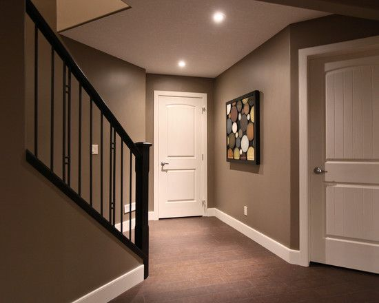 A Good Basement Color If You Want To Go Dark.