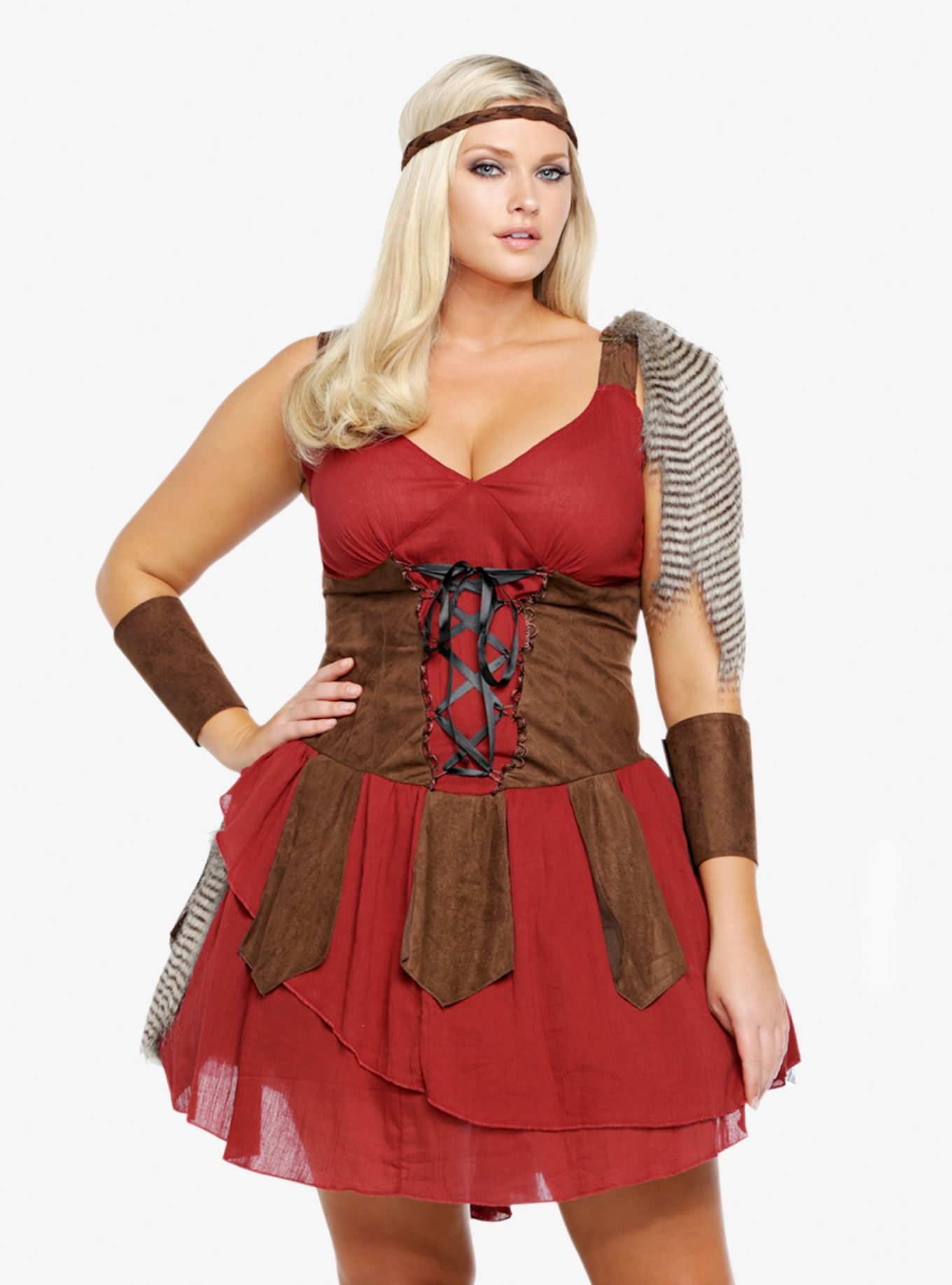 Leg Avenue Deadly Huntress Costume Dress Torrid Full