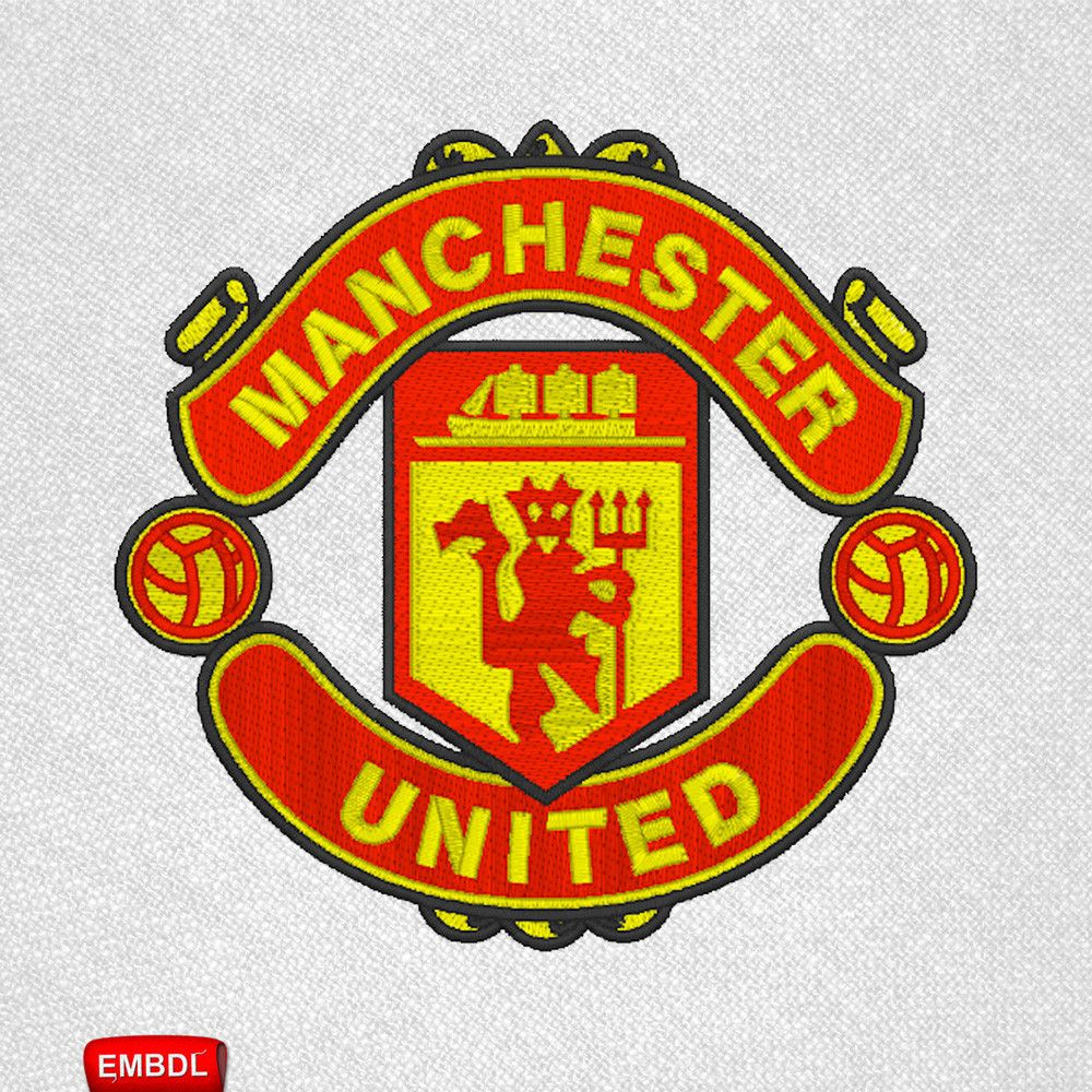 Embroidery Design Manchester United Embroidery Download Embroiderydownloadcom Mancheste Manchester United Logo Manchester United Football Manchester United
