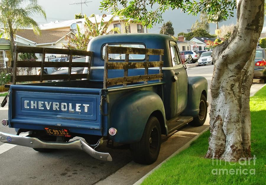Back Of Old Truck Photograph - Back Of Old Truck Fine Art Print ...