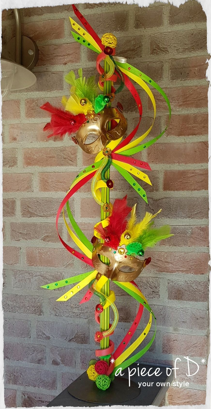 Pin Van Tjasa Vendramin Op Carneval Carnaval Decoraties Carnaval Decoratie Knutselen Decoratie Knutselen