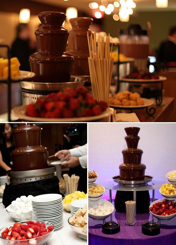 12 Unique Wedding Desserts Beside Cake 9 All You Need Is Love Some Chocolate