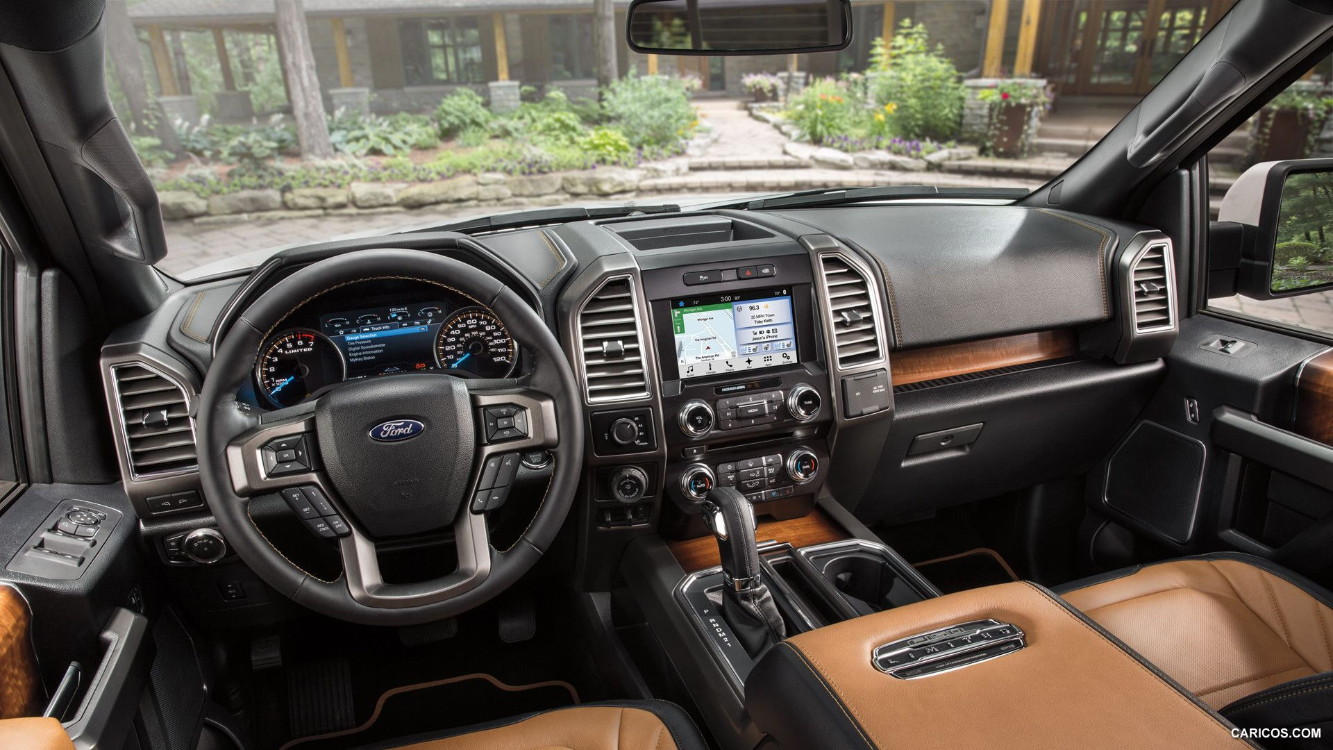 2017 Ford F 150 Interior >> 2016 Ford F 150 Limited Wallpaper F150 Ford F150
