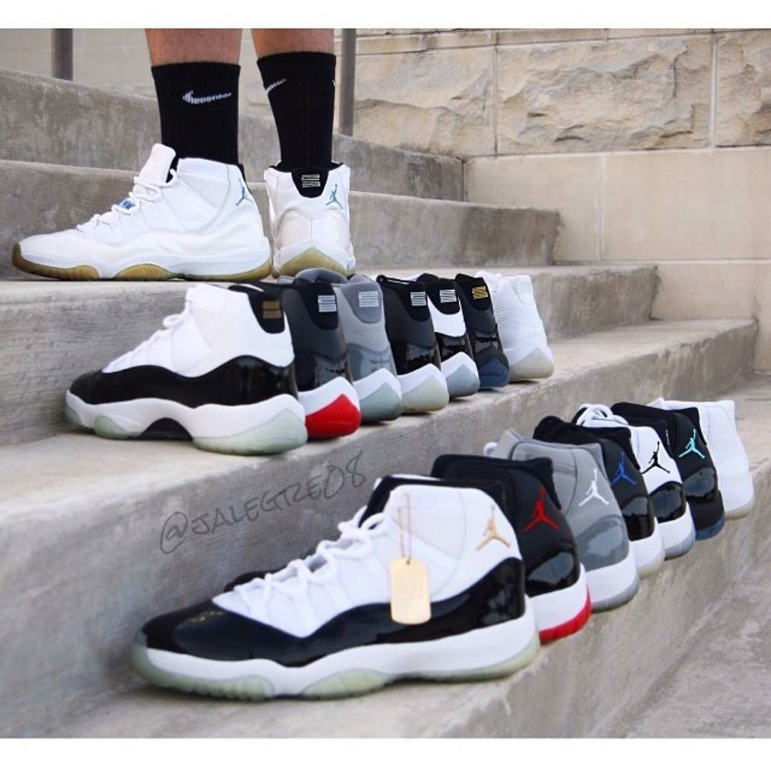 C E R T I F I E D  11s for days  Follow @CertifiedShot & @TigerShvrk   Pic via @jalegre08  #jordan #jordans #kicks #kicksonfire #jordandepot #sneakers #jordansdaily #mjmondays #nike #jumpman #hype #airjordan #CertifiedShot by certifiedshots #SoleInsider