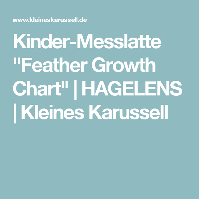 Kinder-Messlatte \