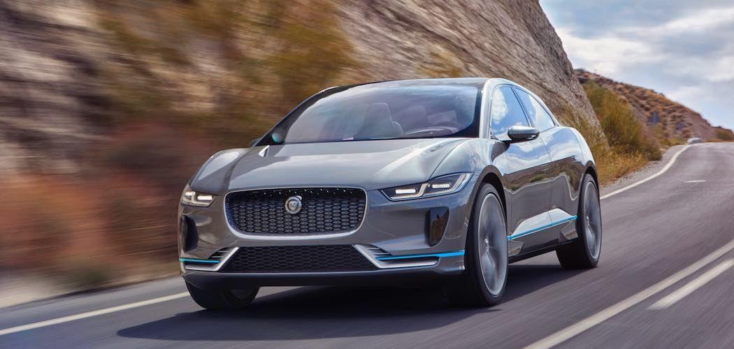 Zahllose Bilder Des Neuen Jaguar I Pace Elektrowagen 2018 Jaguar