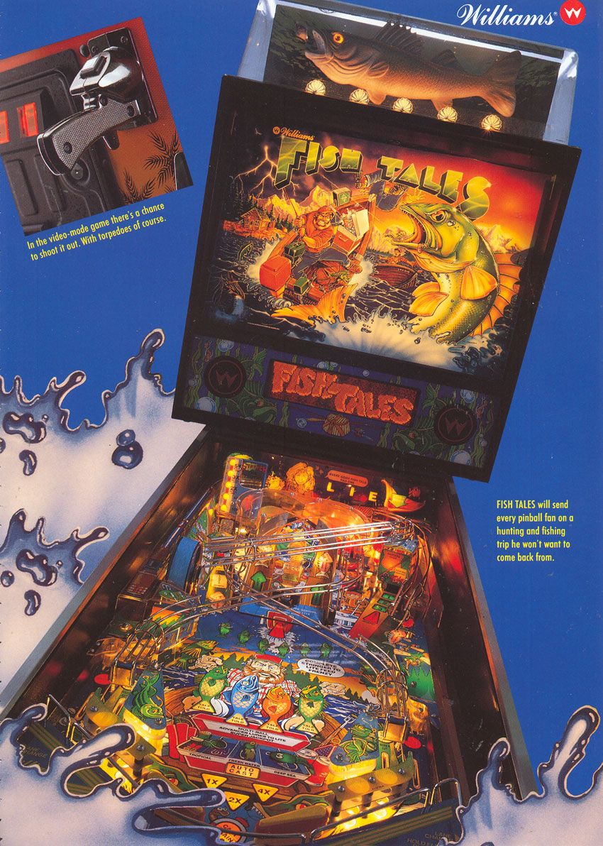 Fish Tales (1992 Williams) Played 16/1/15 at Pipeline