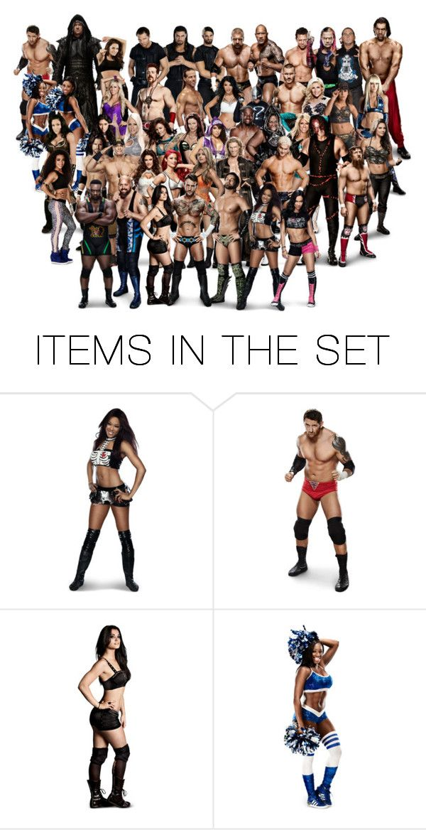 """""""WWE"""" by only-exeption ❤ liked on Polyvore featuring art"""