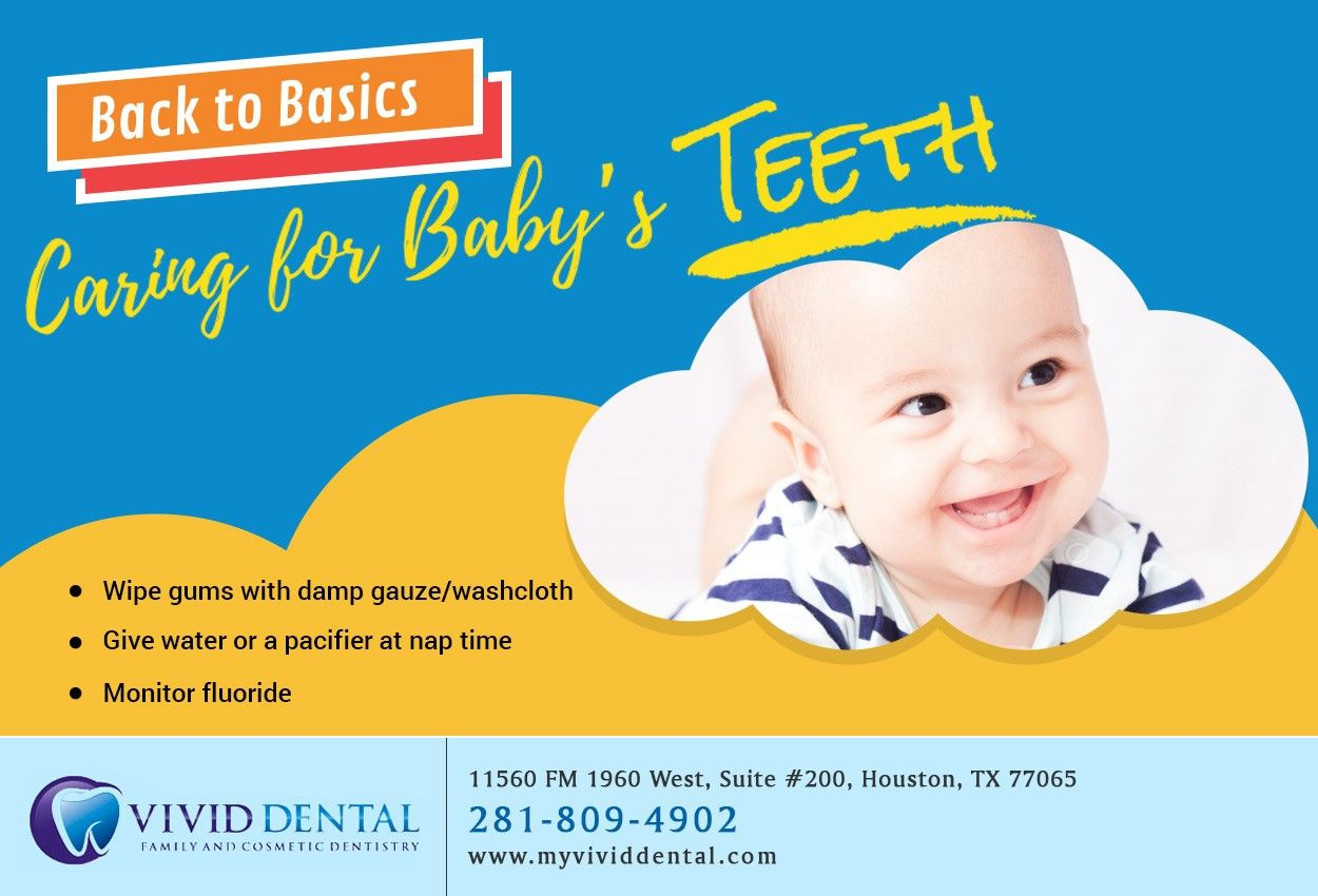 Did you know that caring for your babys teeth begins