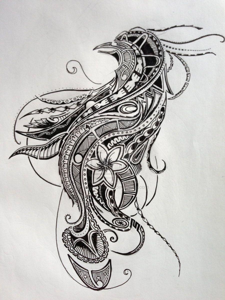 polynesian tattoo bird of paradise design ii by jay emm aye on deviantart wants and gotta. Black Bedroom Furniture Sets. Home Design Ideas