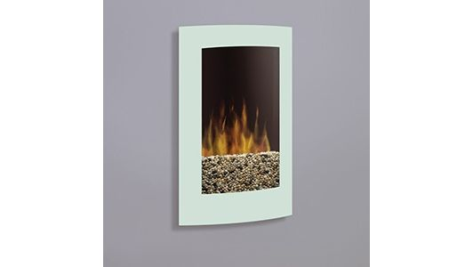 Dimplex Convex Wall Mount In White Vcx1525wh Wall Mount Electric Fireplace Small Electric Fireplace Electric Fireplace