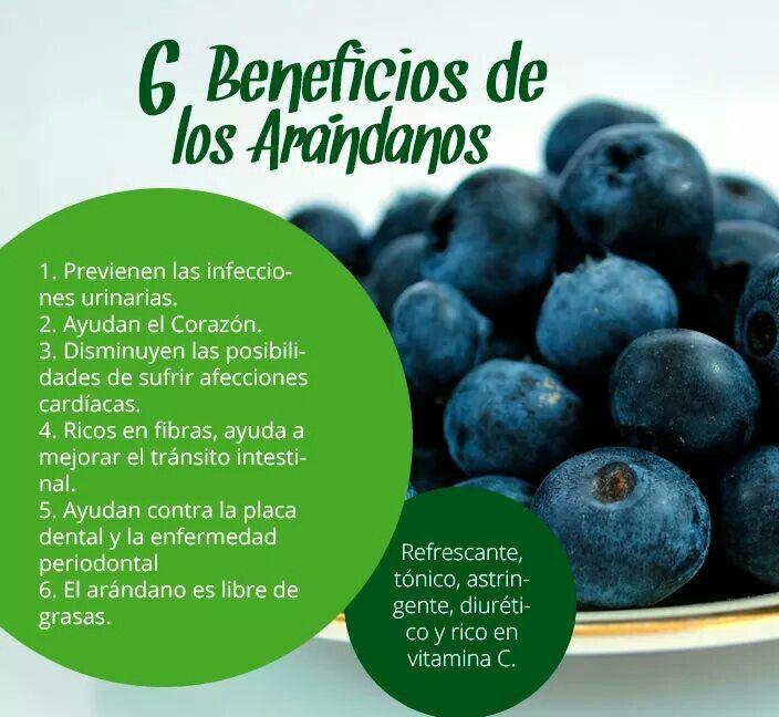 beneficios del arandano azul