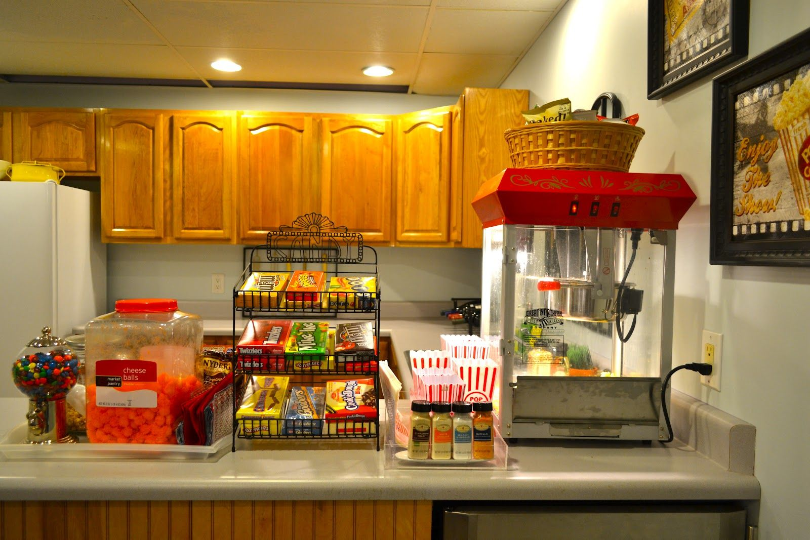 Snack Bar Concession Stand Home Movies Home Theater Rooms