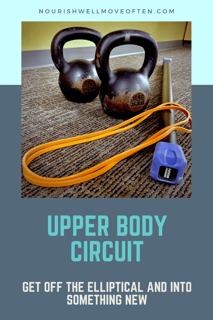 This upper body circuit has you working smarter, not harder. Each move will target various muscles i...