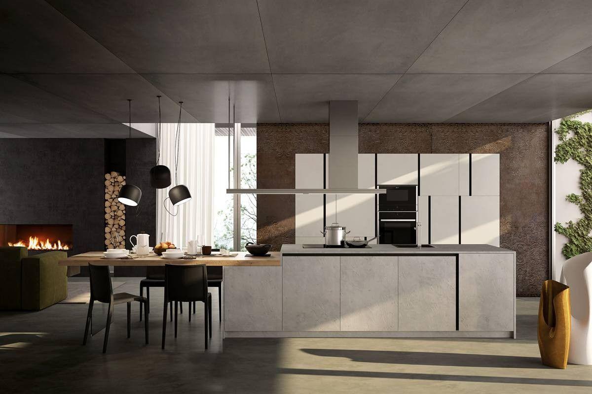 Photo of Meglio Cucine Open Space Moderne Napoli Cucina Soggiorno