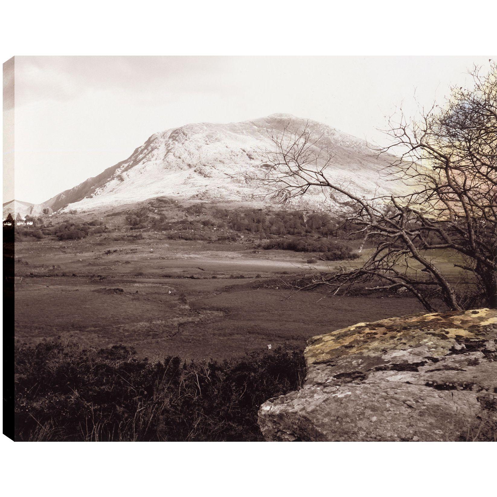 Hobbitholeco P.T.Turk 'Peak' Landscape Photography Gallery-wrapped Wall Art