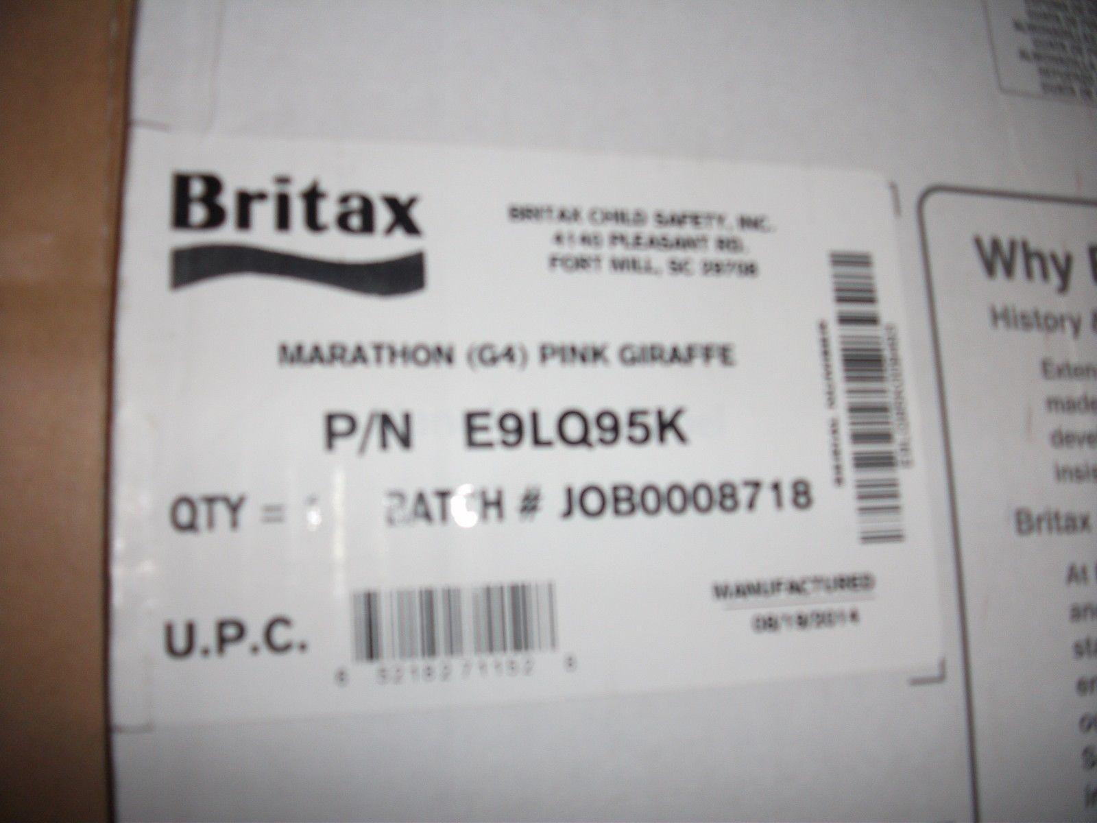 Britax Marathon G4 Convertible Car Seat Pink Giraffe   Common ...