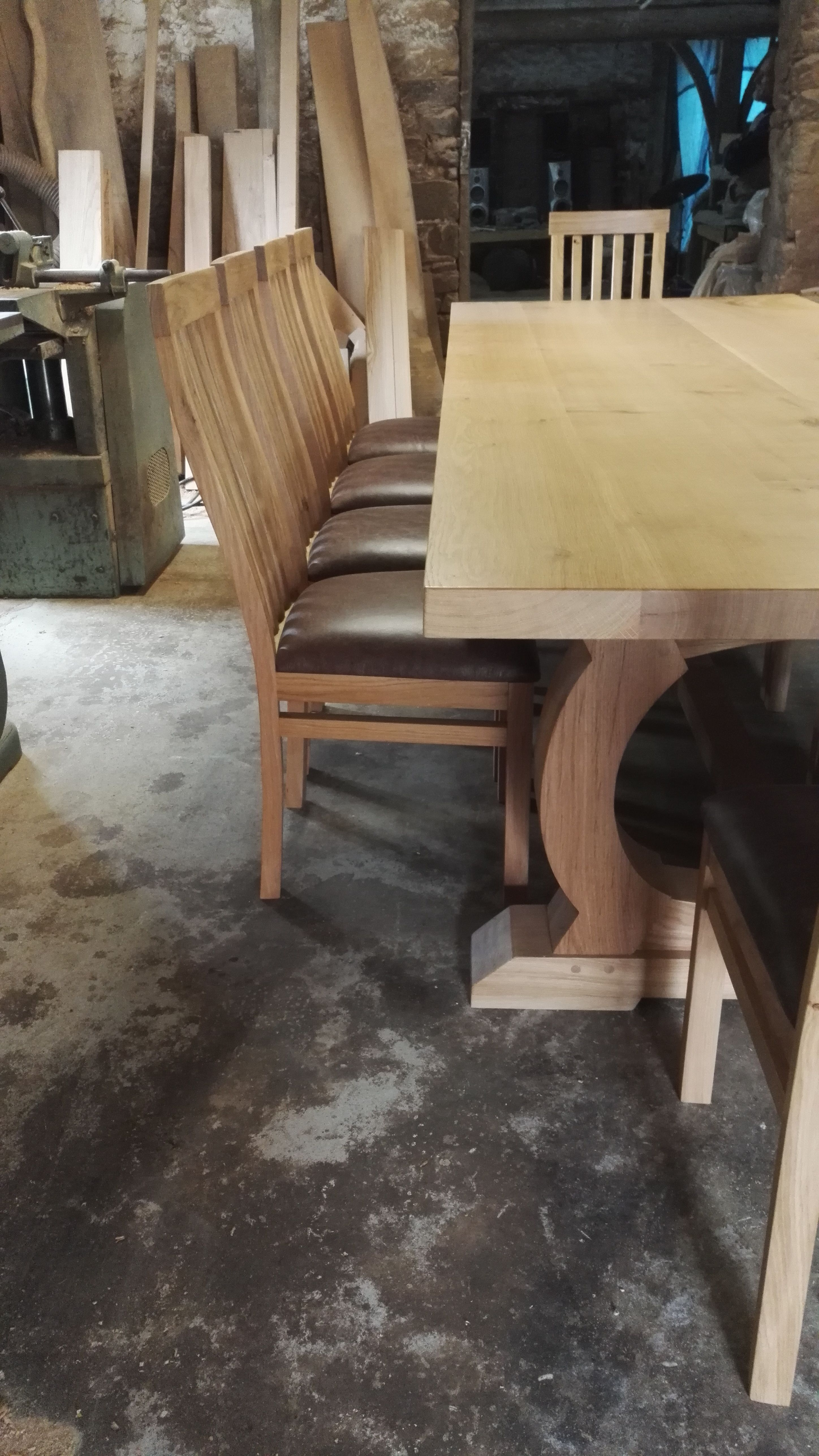 Bespoke Dining Tables In 2019 Table Kitchen